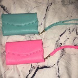 Handbags - TWO wristlets never used